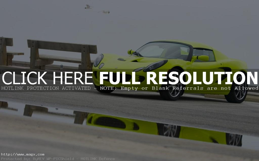 lotus elise11 Krypton Green Lotus Elise