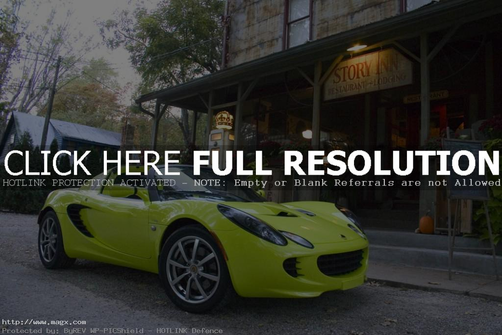lotus elise13 Krypton Green Lotus Elise