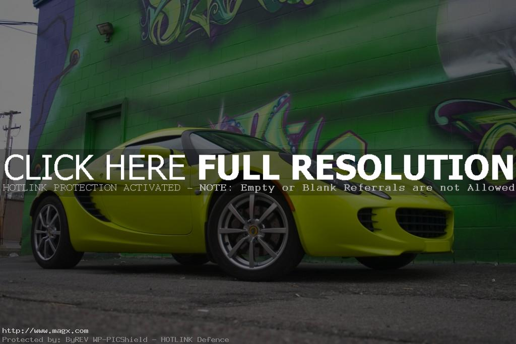 lotus elise2 Krypton Green Lotus Elise
