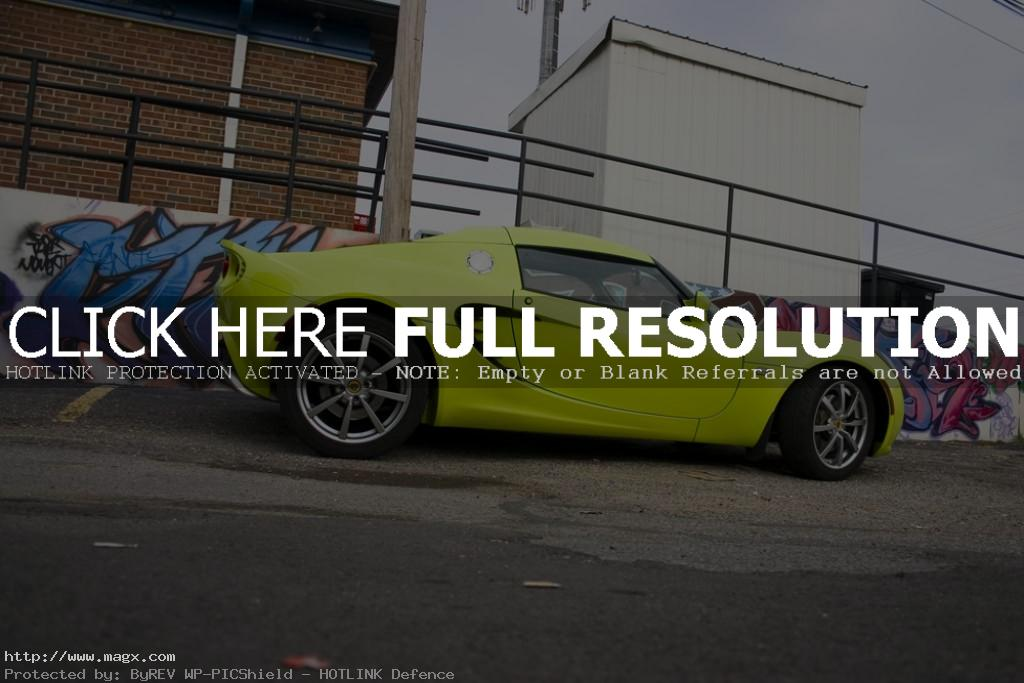 lotus elise3 Krypton Green Lotus Elise
