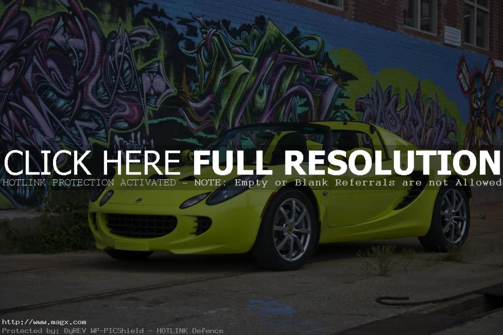lotus elise8 Krypton Green Lotus Elise