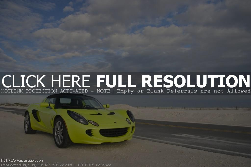 lotus elise9 Krypton Green Lotus Elise