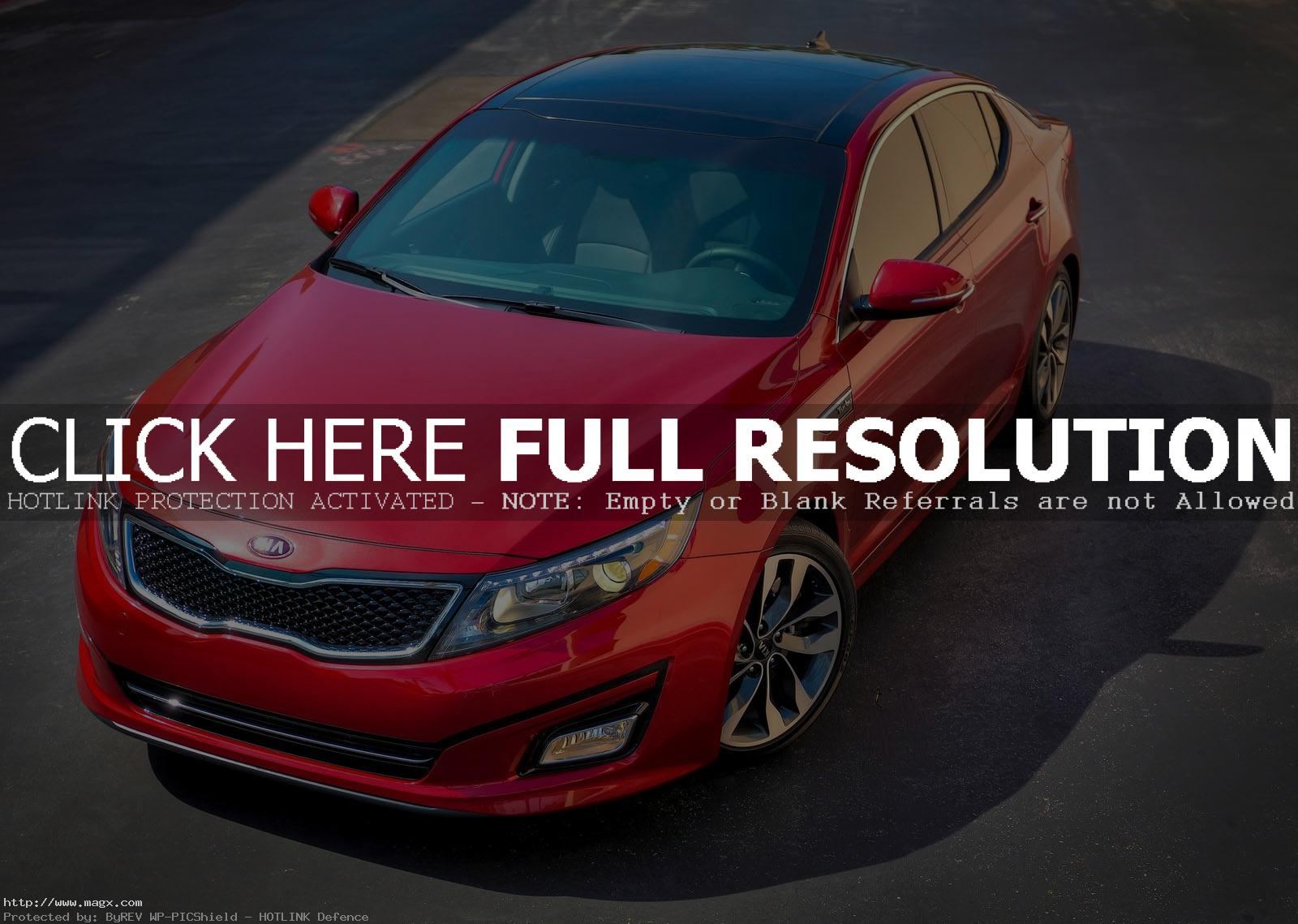 kia optima 20146 A New Look Kia Optima for Year 2014