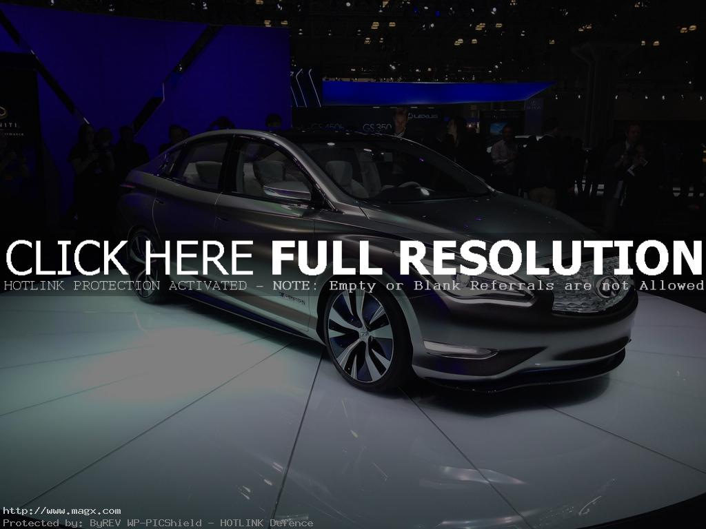 infiniti le Nissan Leaf Transforms Into Luxury Sedan Infiniti LE Concept
