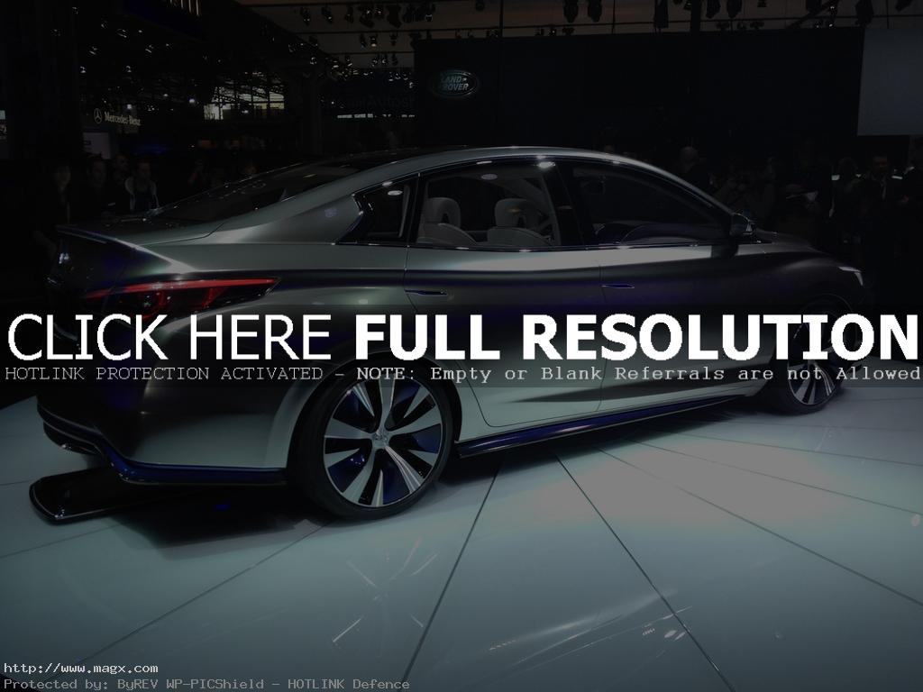 infiniti le1 Nissan Leaf Transforms Into Luxury Sedan Infiniti LE Concept