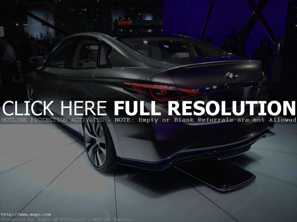 infiniti le2 Nissan Leaf Transforms Into Luxury Sedan Infiniti LE Concept
