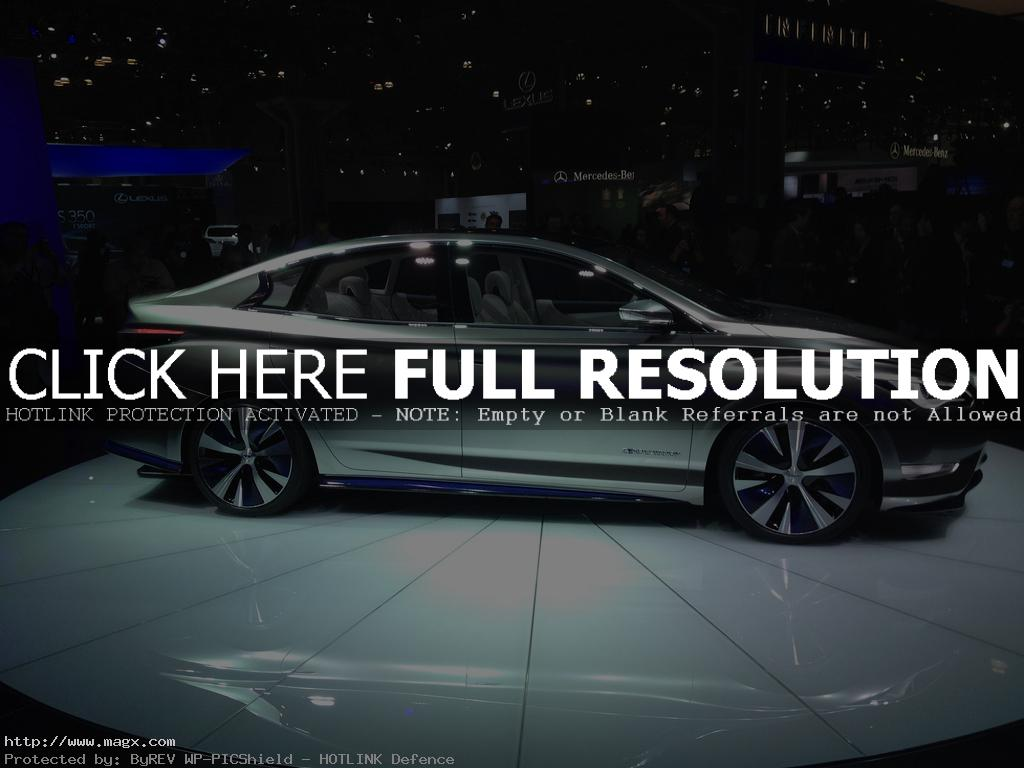 infiniti le3 Nissan Leaf Transforms Into Luxury Sedan Infiniti LE Concept