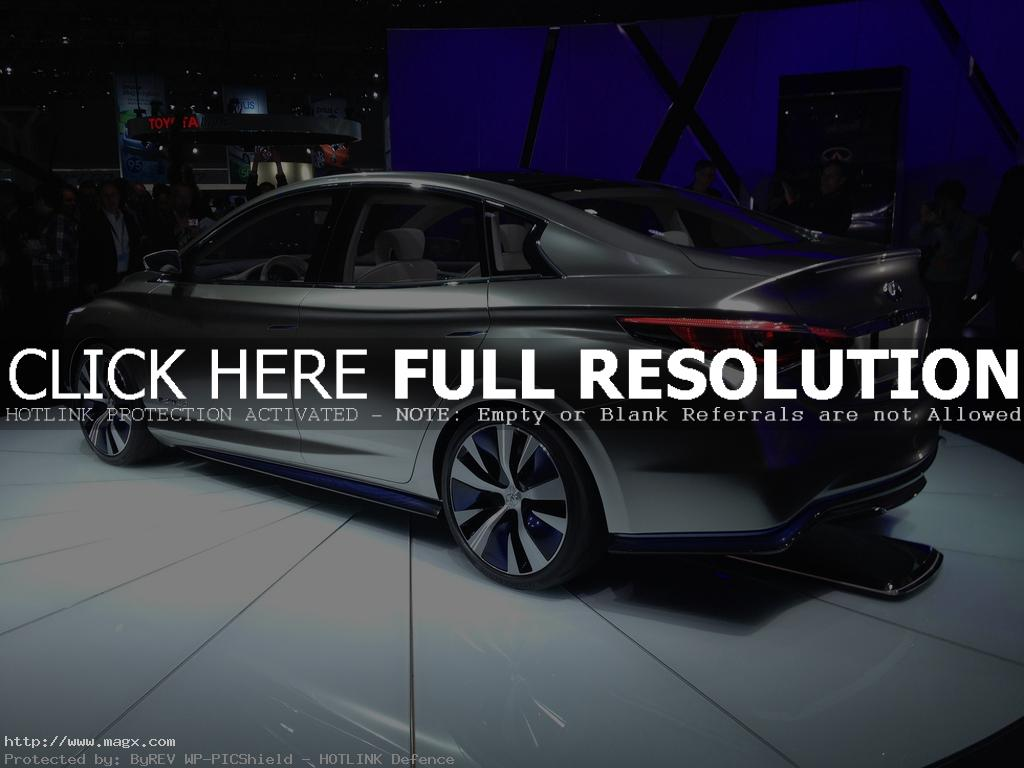 infiniti le4 Nissan Leaf Transforms Into Luxury Sedan Infiniti LE Concept