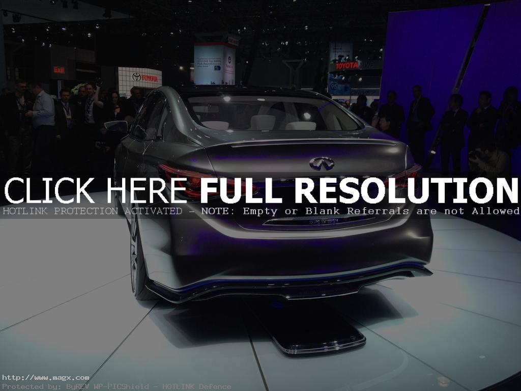 infiniti le5 Nissan Leaf Transforms Into Luxury Sedan Infiniti LE Concept