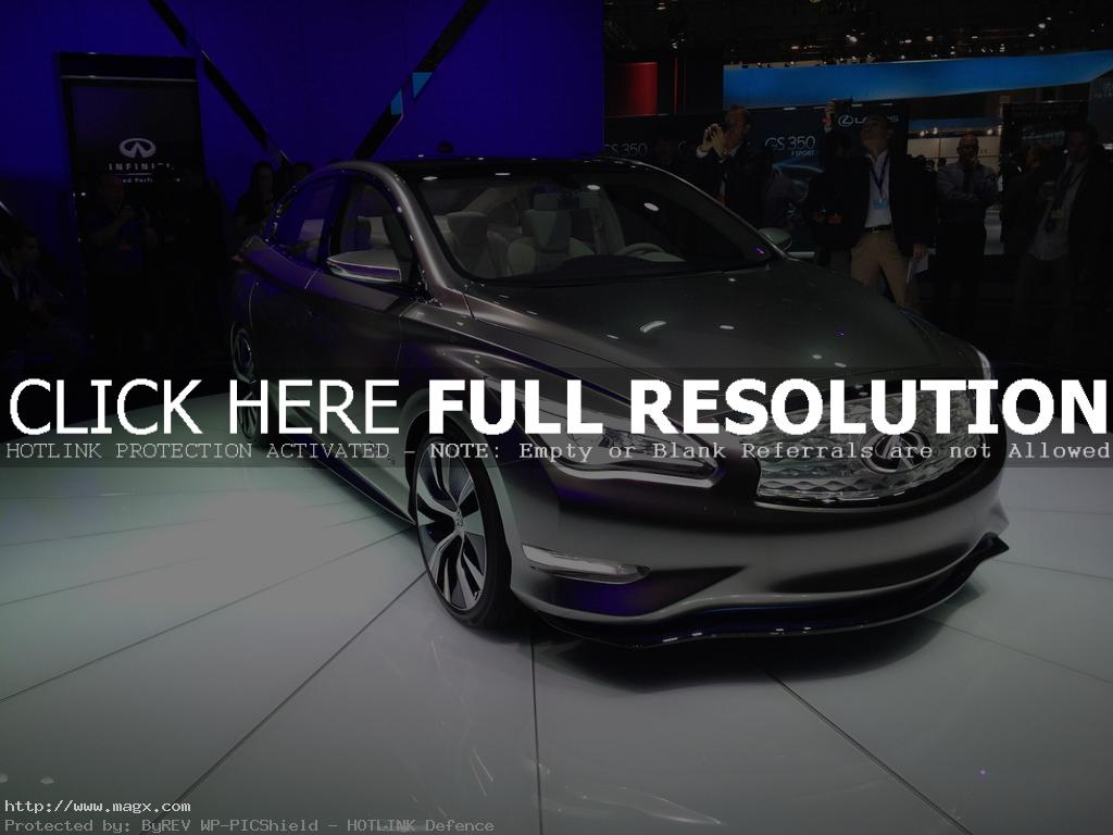 infiniti le6 Nissan Leaf Transforms Into Luxury Sedan Infiniti LE Concept