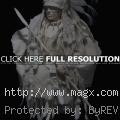 Native American Art Paper Sculpt...