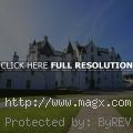 Scottish Blair Castle with Garde...