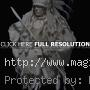 Native American Art Paper Sculptures
