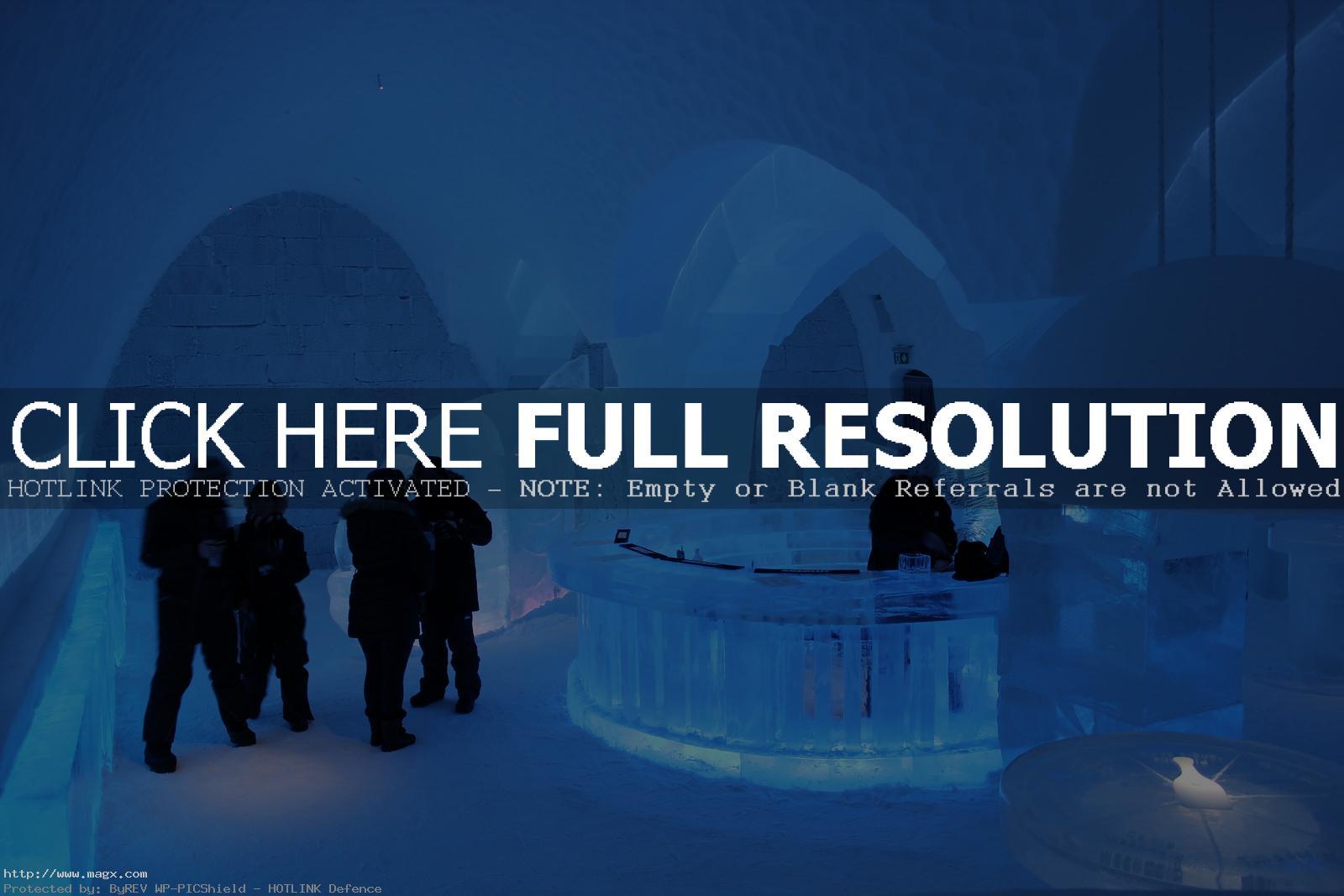 jukkasjarvi Ice Hotel in Jukkasjarvi, Sweden