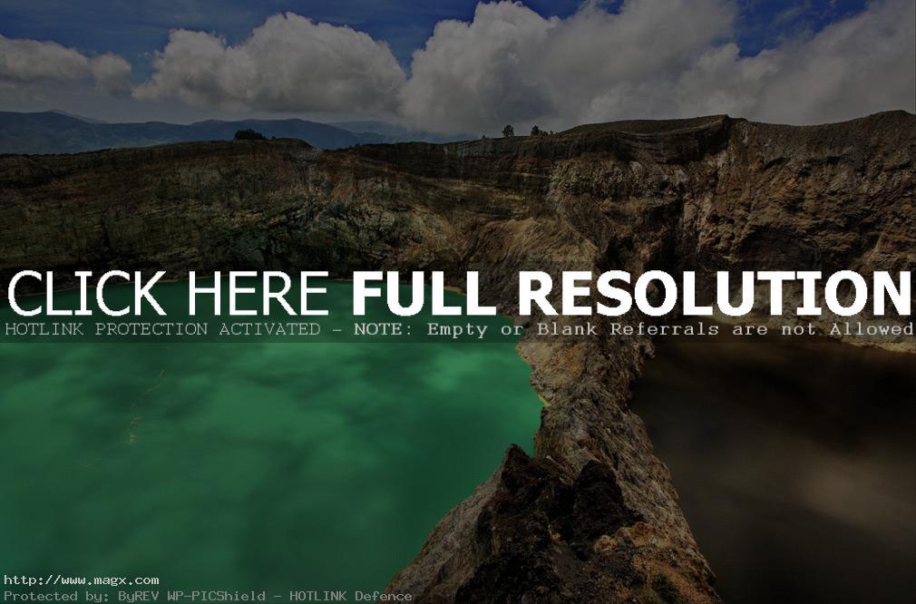kelimutu lake5 Famous Volcanic Kelimutu Lakes