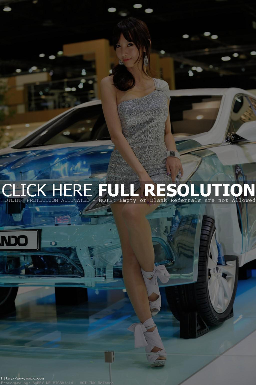 korean girls1 Most Beautiful Promotional Models of Seoul Motor Show 2013