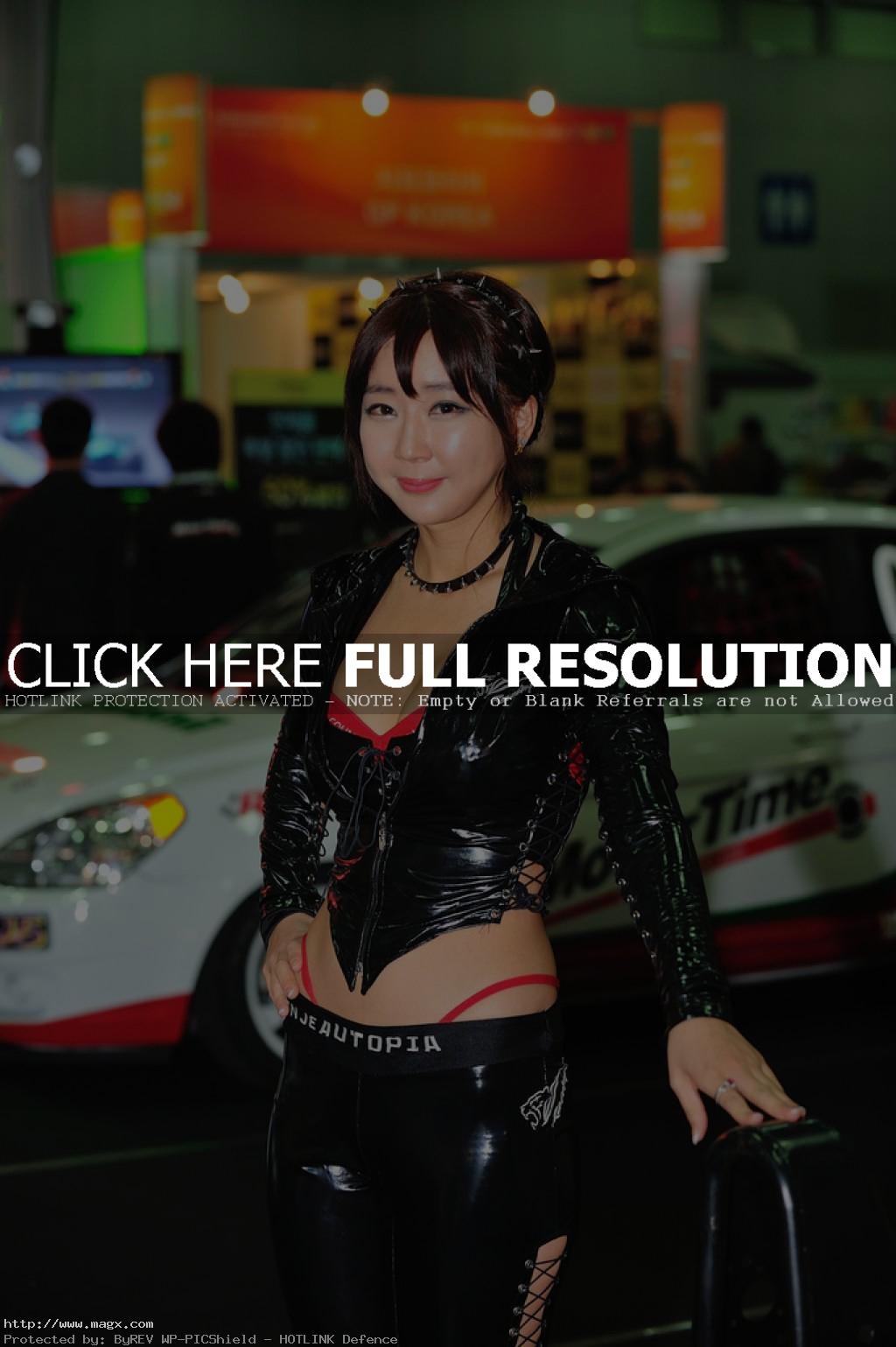 korean girls10 Most Beautiful Promotional Models of Seoul Motor Show 2013