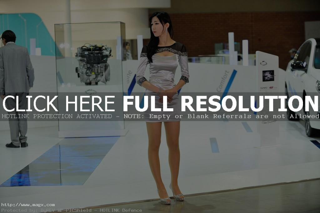 korean girls11 Most Beautiful Promotional Models of Seoul Motor Show 2013