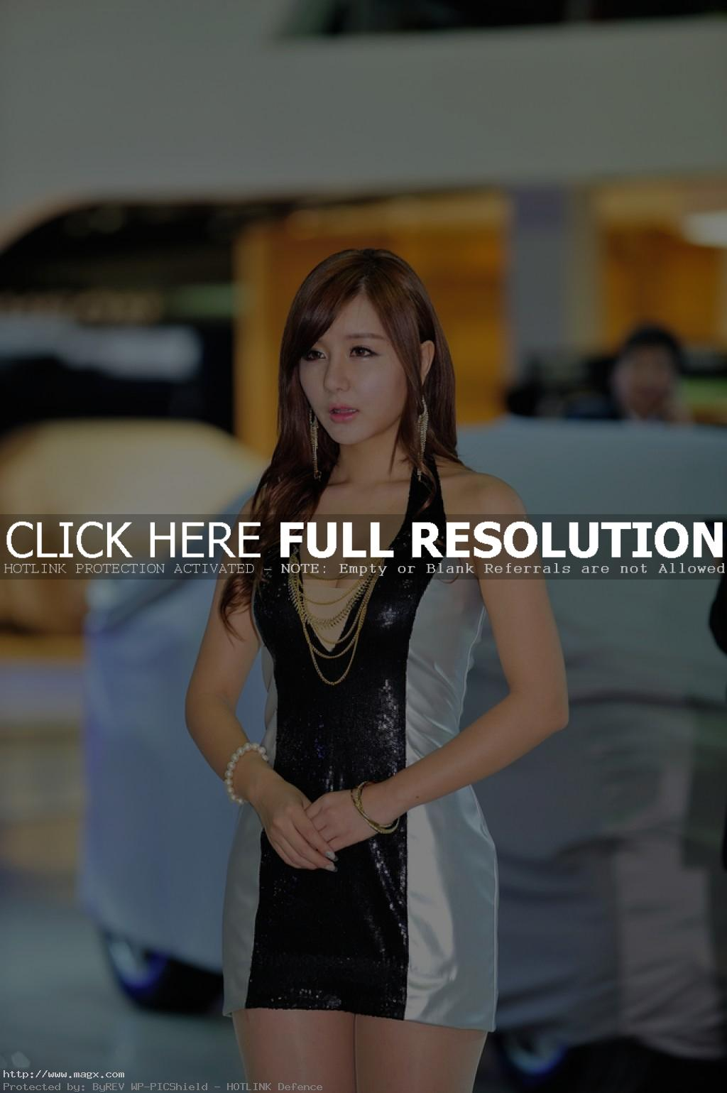 korean girls16 Most Beautiful Promotional Models of Seoul Motor Show 2013