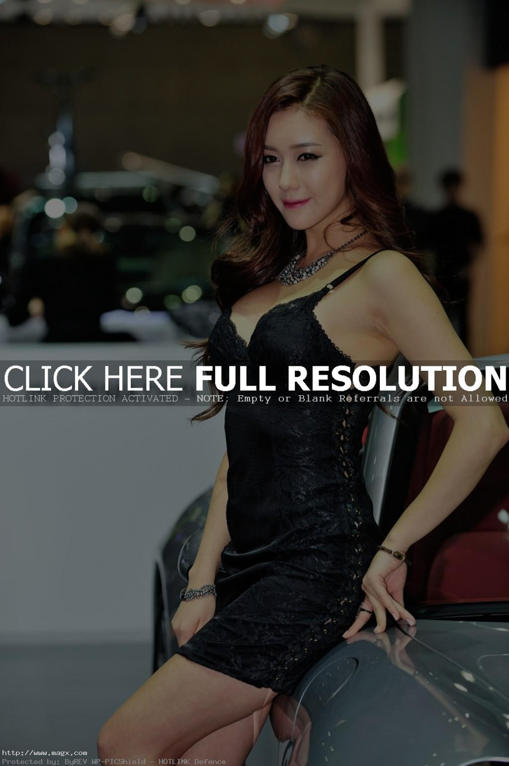 korean girls17 Most Beautiful Promotional Models of Seoul Motor Show 2013