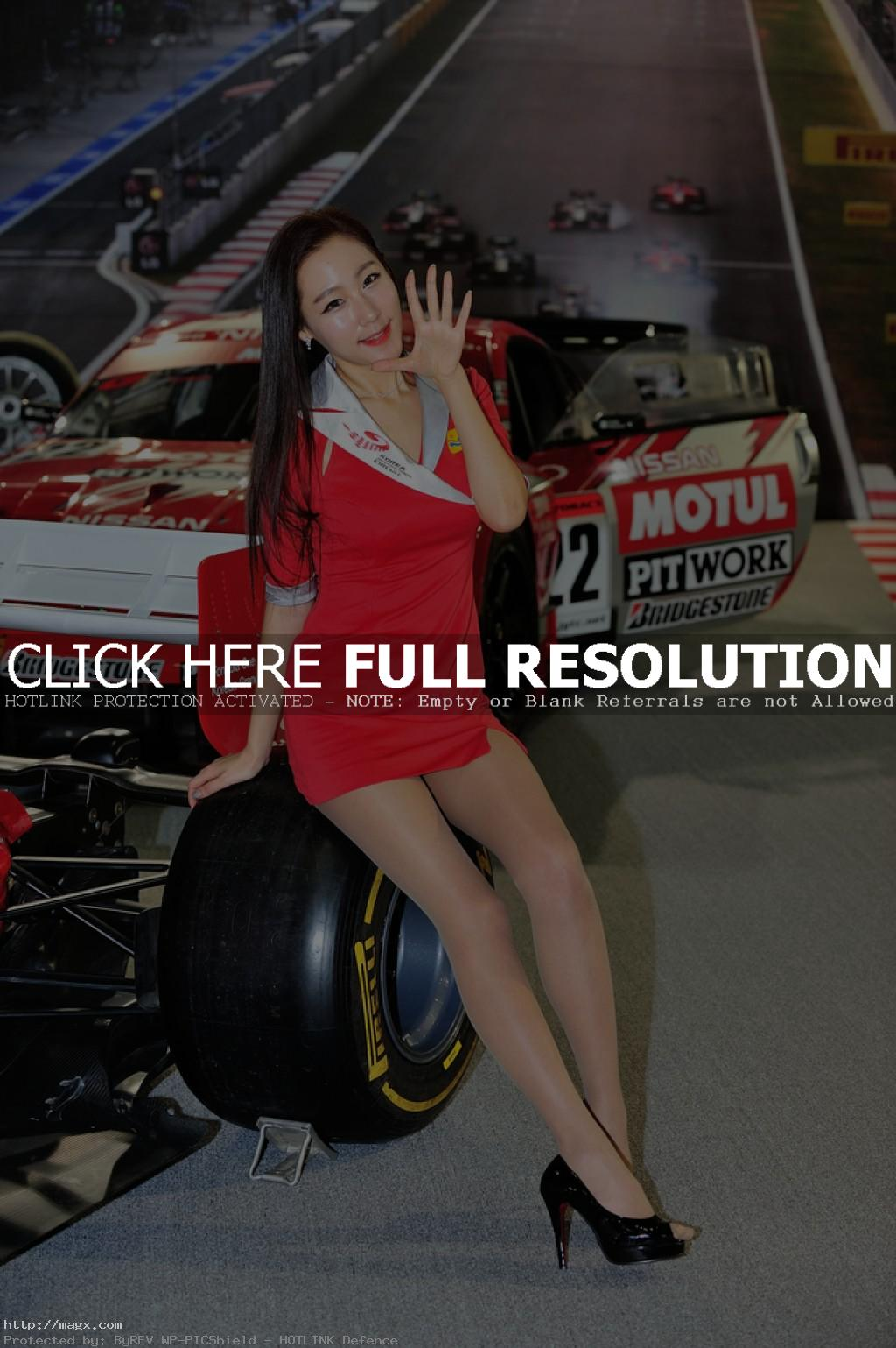 korean girls18 Most Beautiful Promotional Models of Seoul Motor Show 2013