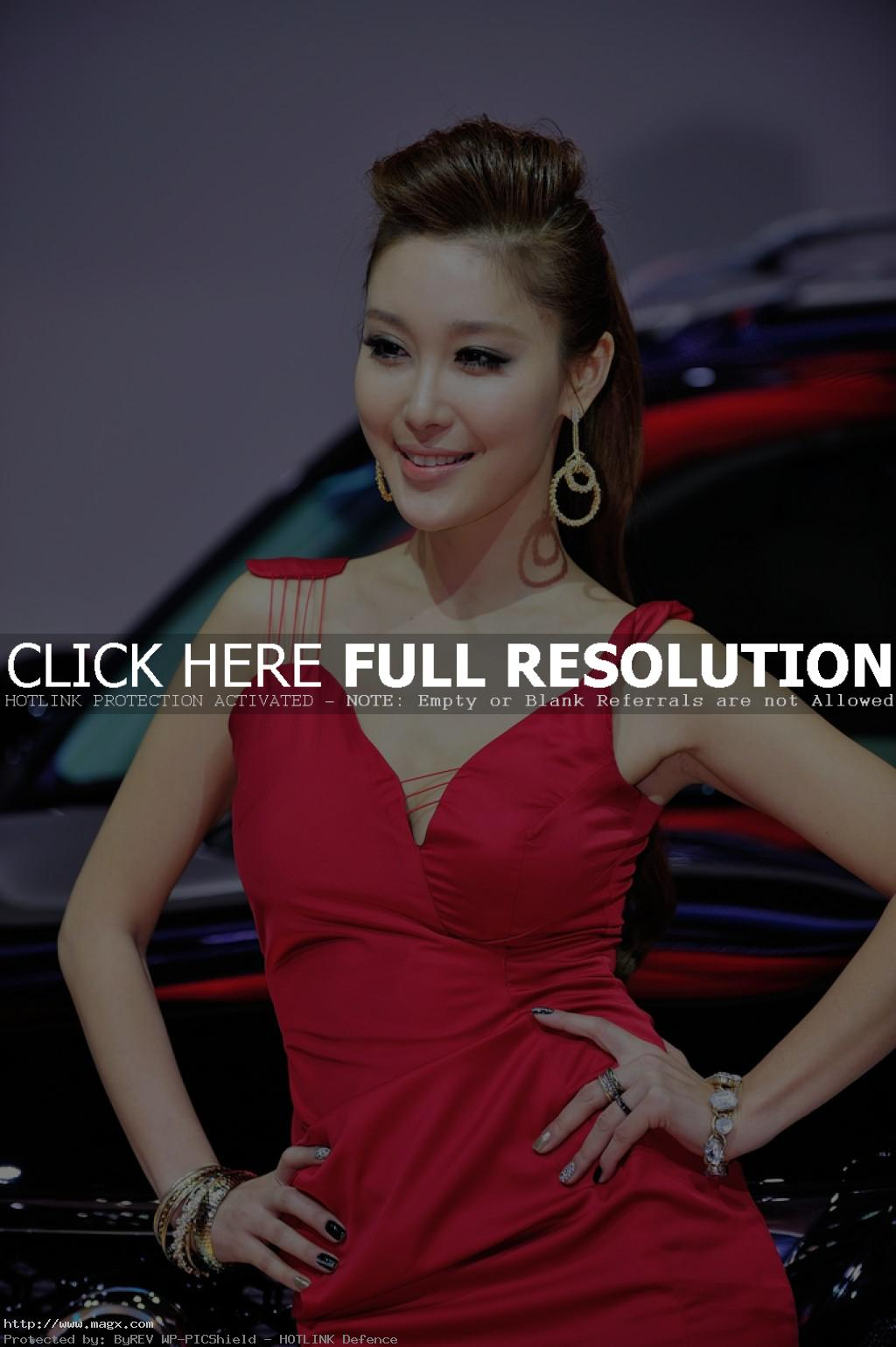 korean girls19 Most Beautiful Promotional Models of Seoul Motor Show 2013