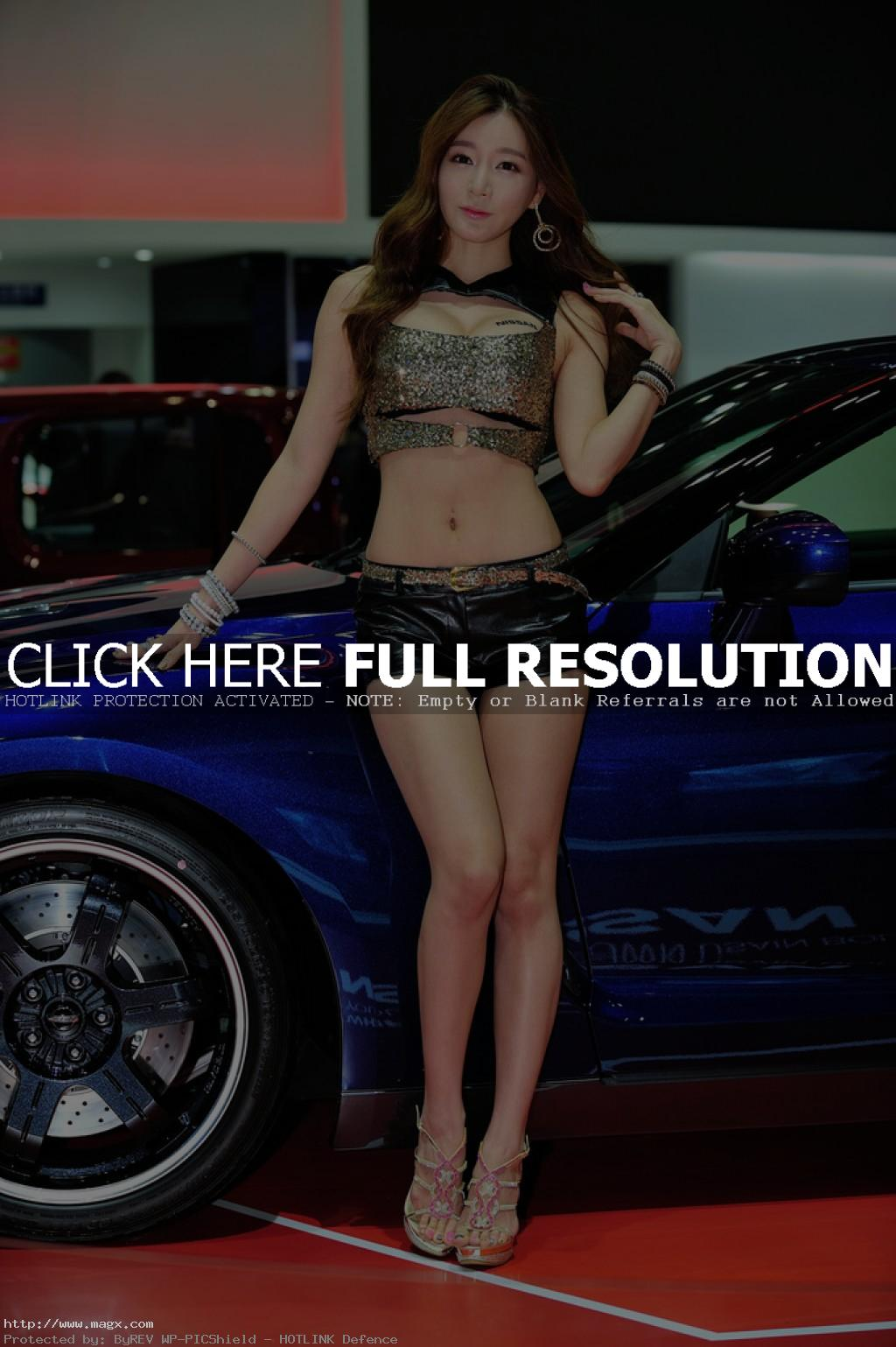 korean girls5 Most Beautiful Promotional Models of Seoul Motor Show 2013