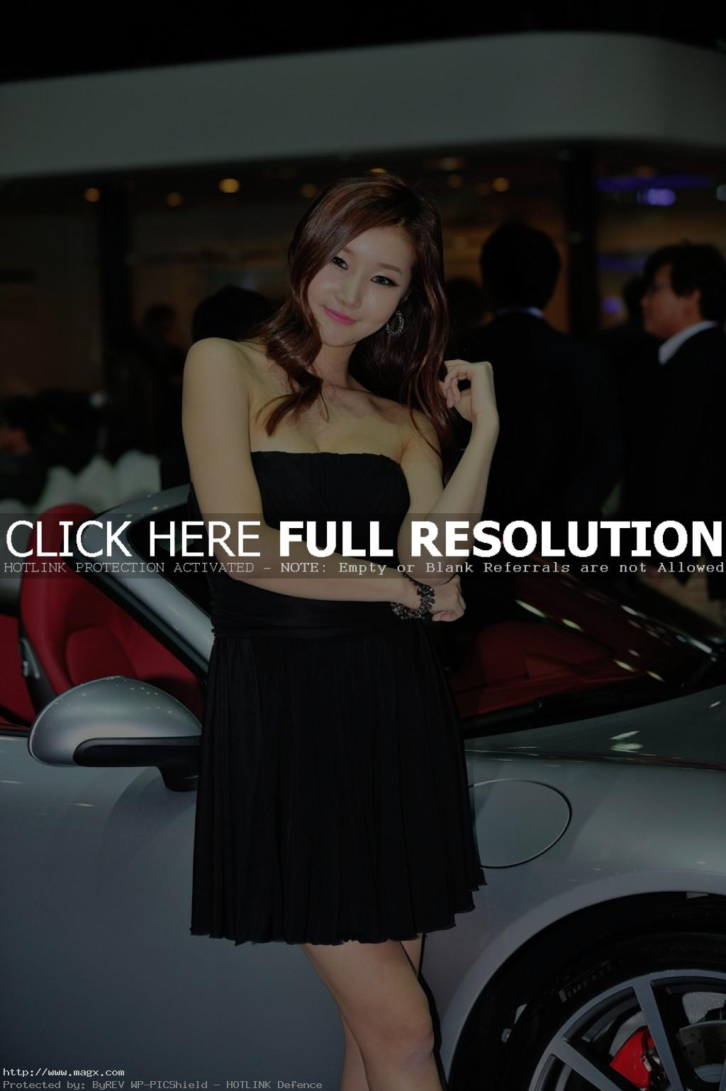 korean girls6 Most Beautiful Promotional Models of Seoul Motor Show 2013