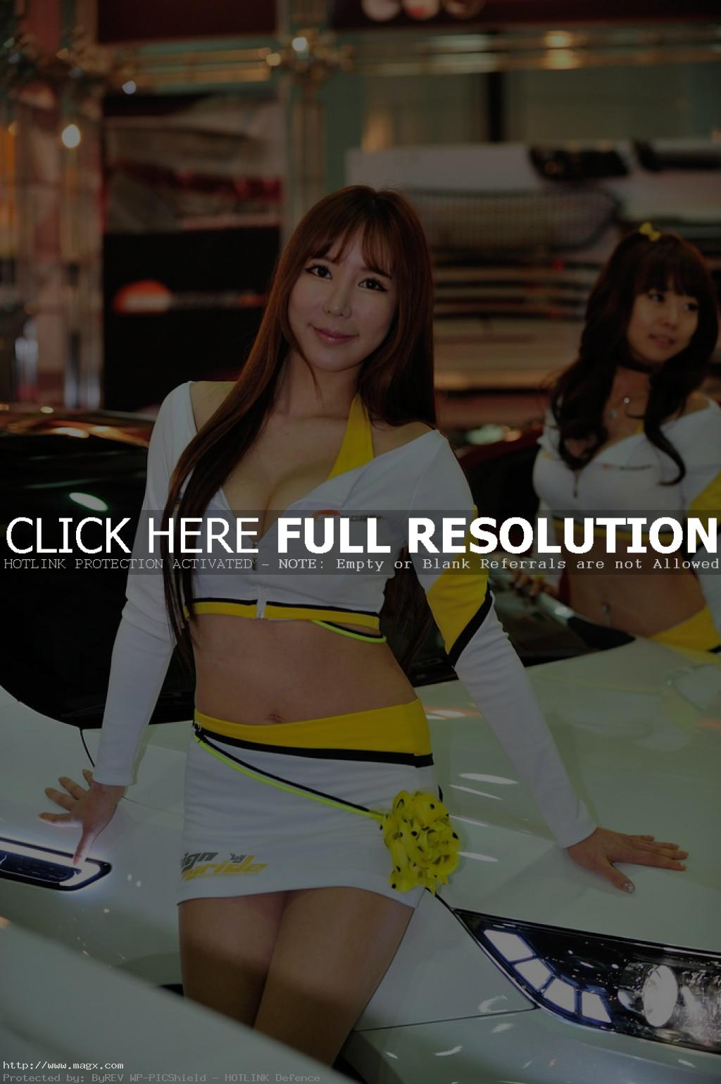 korean girls8 Most Beautiful Promotional Models of Seoul Motor Show 2013