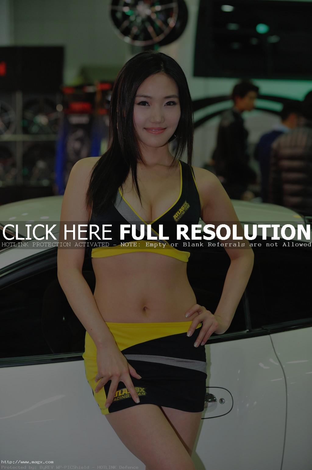 korean girls9 Most Beautiful Promotional Models of Seoul Motor Show 2013