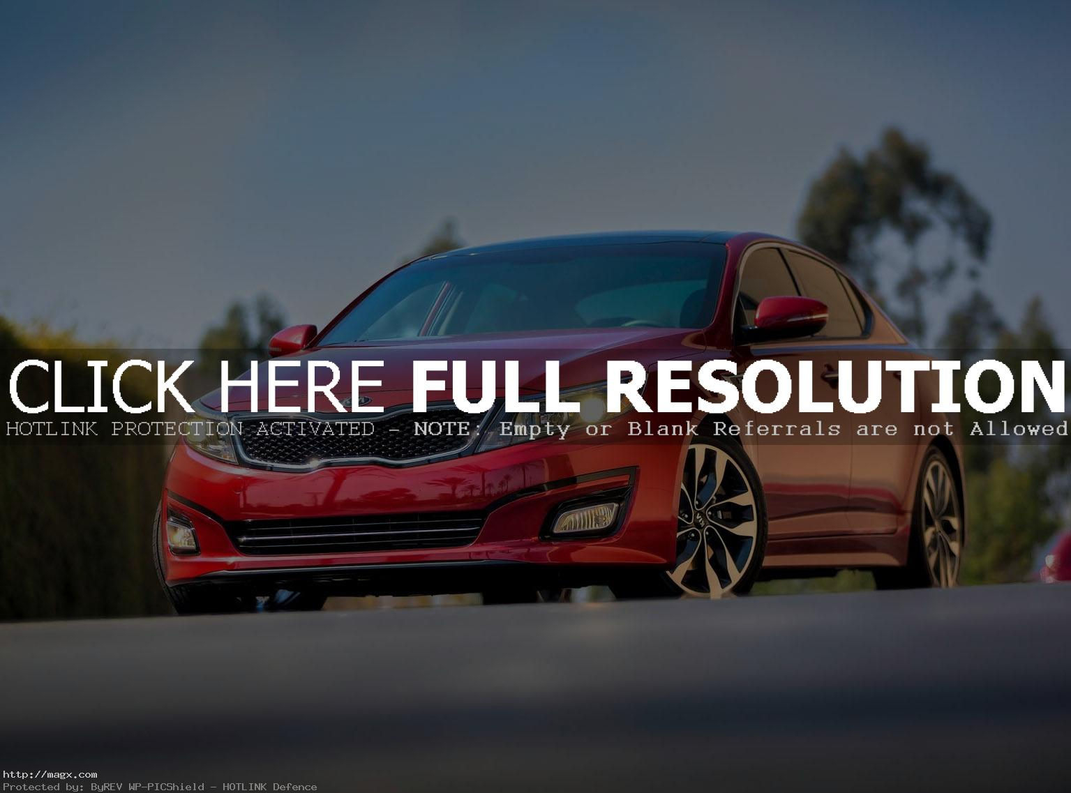kia optima 20143 A New Look Kia Optima for Year 2014