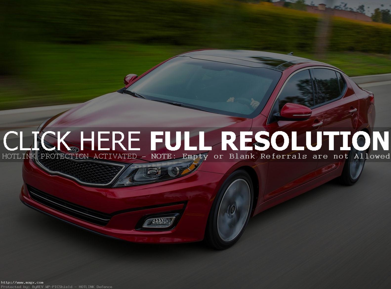 kia optima 20144 A New Look Kia Optima for Year 2014