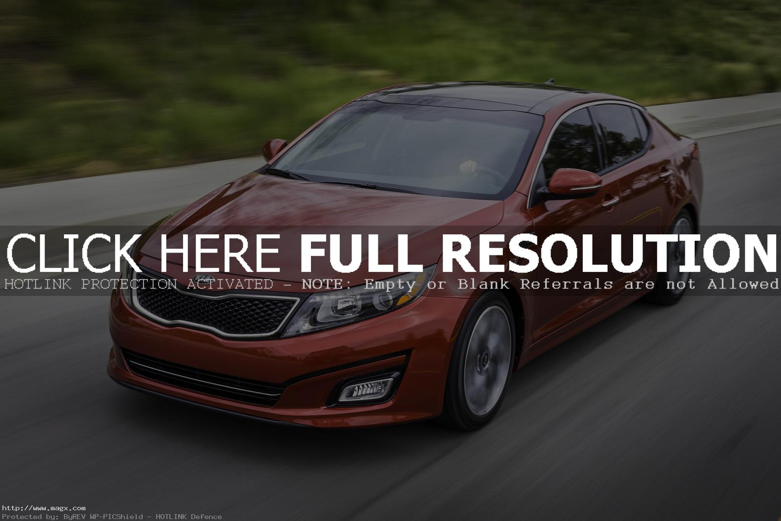 kia optima 20145 A New Look Kia Optima for Year 2014